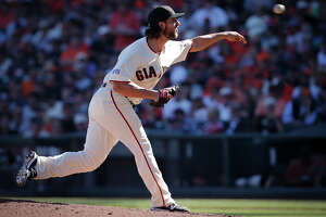 At 25, Madison Bumgarner an old hand at postseason pitching - Photo