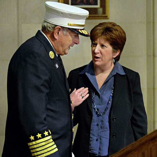 New Chief of the Department of Fire & Emergency Services for the City of Albany, Warren W. Abriel, J