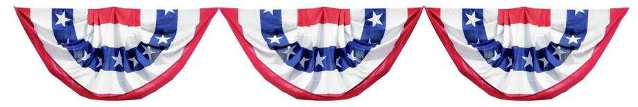 Patriotic Election Bunting Decorations Photo: Craig McCausland / (c) Craig McCausland