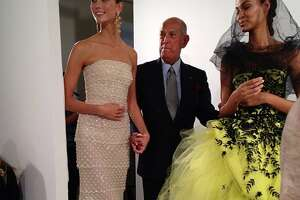 Oscar de la Renta: Fashion icon kept close ties to Bay Area - Photo