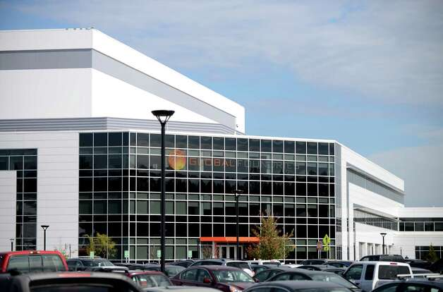 Exterior of GlobalFoundries computer chip factory Monday afternoon, Oct. 20, 2014, at Luther Forest Technology Campus in Malta, N.Y. (Will Waldron/Times Union) Photo: WW