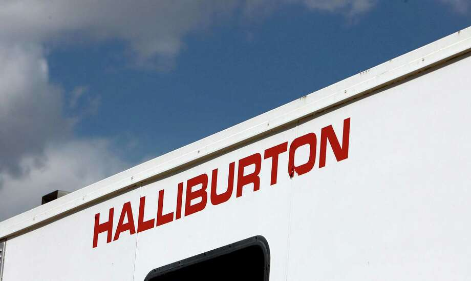 Surging activity in  Texas' Permian Basin helped boost third-quarter profit 70 percent at Halliburton, which provides oil field services including  drilling and hydraulic fracturing. (AP Photo/David Zalubowski, File) Photo: David Zalubowski, STF / AP
