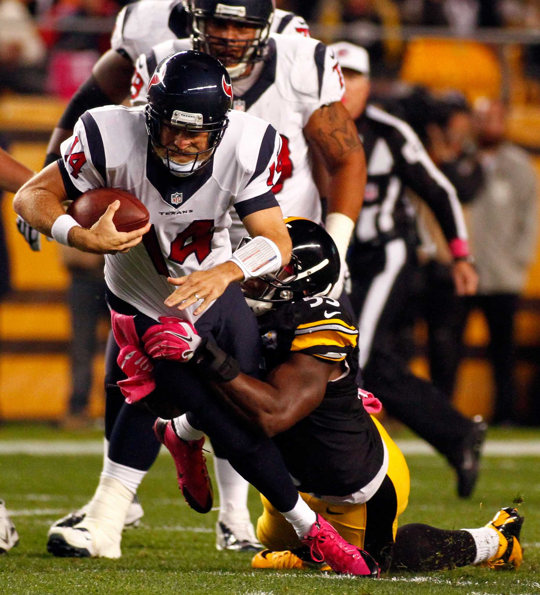 Steelers Upend Texans With First Half Flurry San Antonio