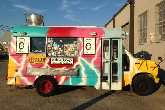 One of the most successful Houston food trucks is now for sale. The original Eatsie Boys food truck, a 1992 GMC school bus converted into a full-functional rolling kitchen, is now for sale on Craigslist. Eatsie Boys co-owner Matt Marcus put the ad online late Monday evening. The bus is listed at $16,500. That price gets you a stainless steel kitchen including two sinks, a freezer, prep areas, a propane generator, a speed rack, outdoor lighting, fresh water and gray water tanks, a water, pump, and a 36-inch flat top griddle. All on four wheels.