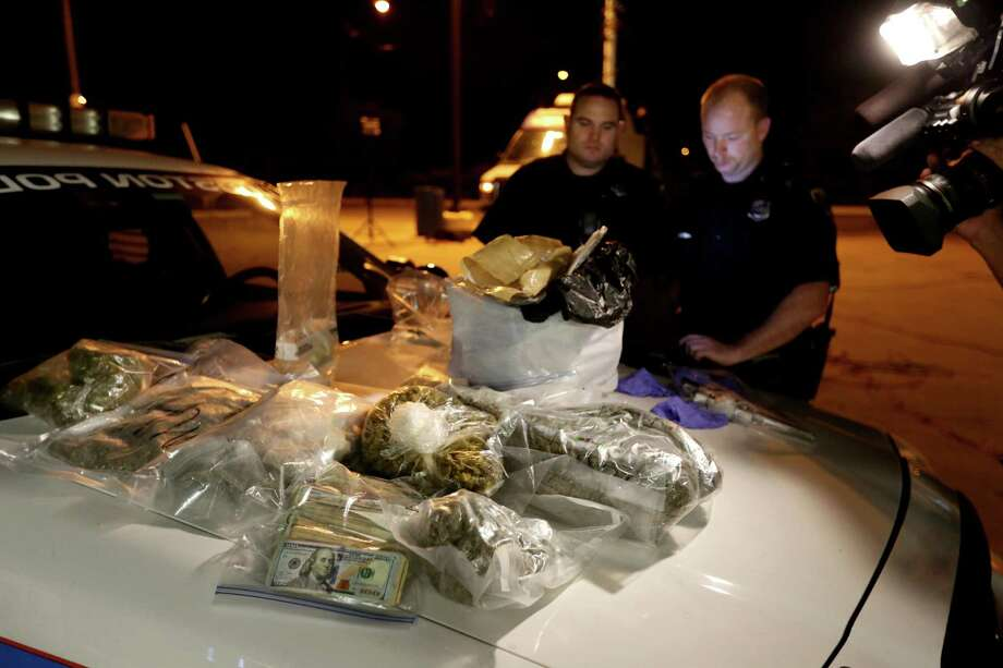 "Crime doesn't pay, according to a recent study. Using financial data that was once used in the book ""Freakonomics,"" an anti-drug website found the wage gap between drug gang lemmings and their local kingpins is night and day. See how much members are getting paid on average.Source: Treatment4Addiction.com Photo: Gary Coronado, Houston Chronicle / © 2014 Houston Chronicle"