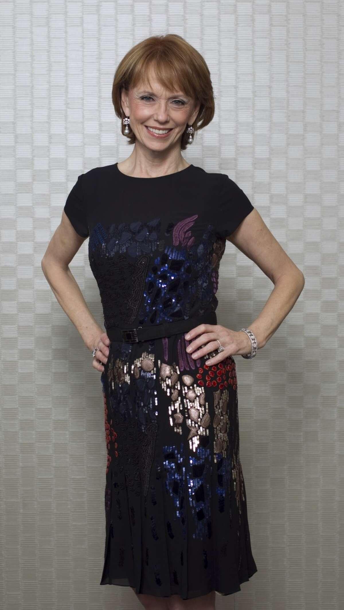 Susan Krohn wore Oscar de la Renta at the Best Dressed announcement party in 2011.