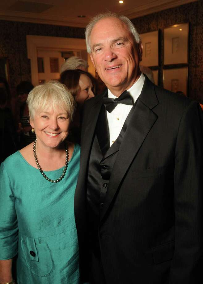 Honoree T. Jay Collins and wife Maxann Photo: Dave Rossman, Freelance / © 2014 Dave Rossman