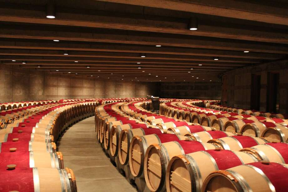 Texas wineries, which routinely cope with fickle weather, could take a page from the book of Opus One Winery in Oakville, Calif. Its Overture is a mostly cabernet blend made to show off fruit, not a specific year. Photo: Opus One