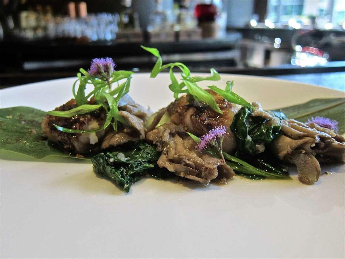 Matsutake mushroom dish at Kuu.