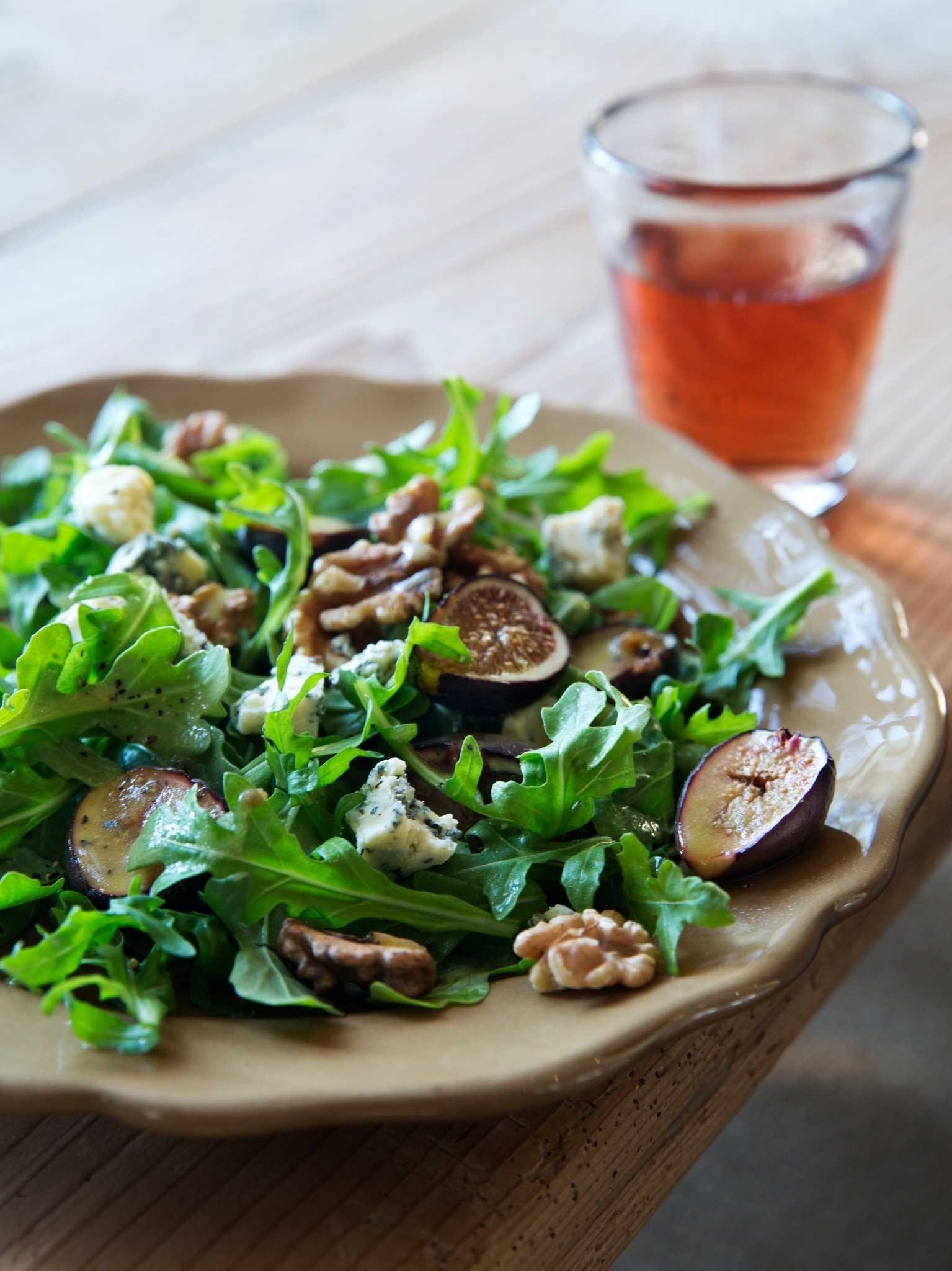 Ina Garten Salads recipe: warm fig & arugula salad - houston chronicle