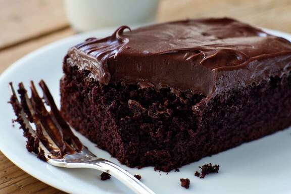 Chocolate Cake with Mocha Frosting.