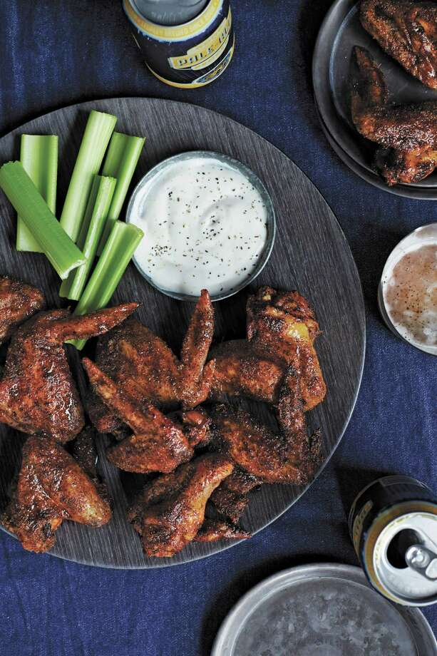 "Smoked Chicken Wings from ""Bourbon & Bacon: The Ultimate Guide to the South's Favorite Food Groups."" Photo: Courtesy"