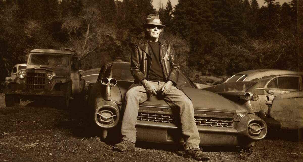 """Neil Young's new album, """"Storytone,"""" features a 92-piece orchestra and choir."""