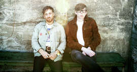 Dan Auerbach (left) and Patrick Carney of the Black Keys are recovering from a difficult year as they hit the road.