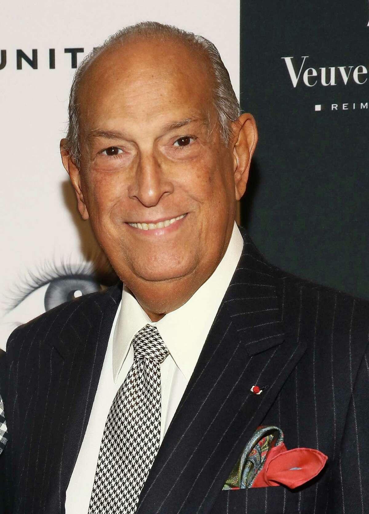 FILE - OCTOBER 20: Fashion designer Oscar De La Renta has died at 82 years old. NEW YORK, NY - SEPTEMBER 19: Oscar de la Renta attends 2013 Icons Of Style Gala at Mandarin Oriental Hotel on September 19, 2013 in New York City.