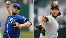 James Shields faces Madison Bumgarner in Game 1. The Game 1 winner has taken 10 of the past 11 Series.