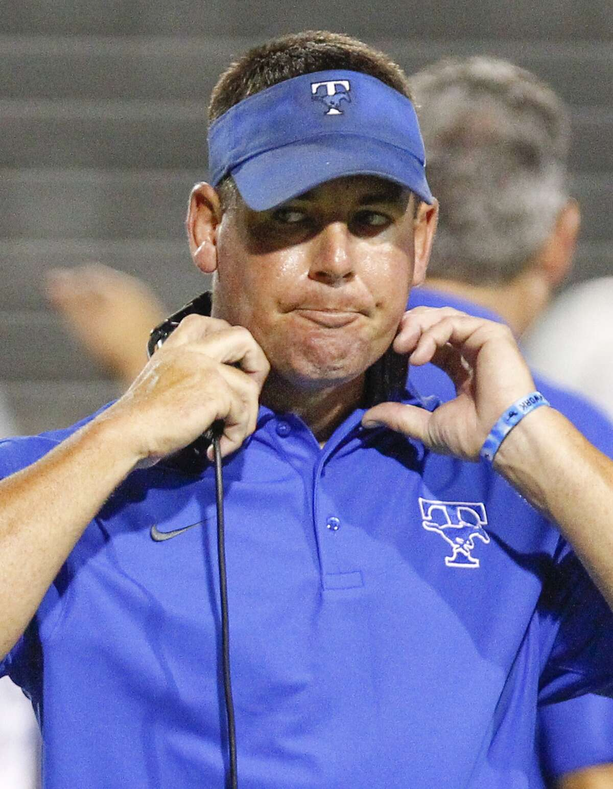 Taylor High School parents and students learned Tuesday that Trey Herrmann, the head football coach and athletic director, would be at least temporarily replaced by assistant coach Joe Sheffy. PHOTOS: Houston's highest paid high school football coaches of 2016 ...