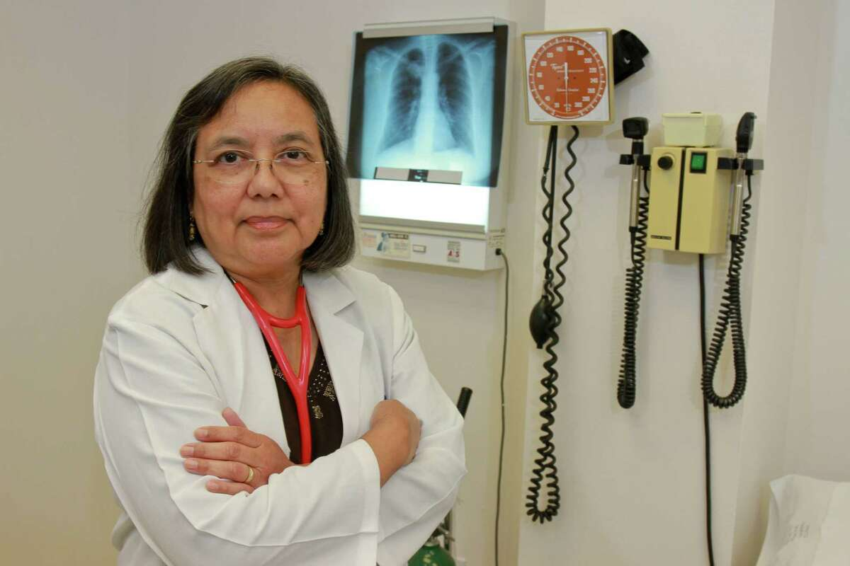 Dr. Elizabeth Torres, president of the Harris County Medical Society. (For the Chronicle/Gary Fountain)