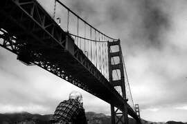 "Photos of the Golden gate Bridge. Story on GG Bridge suicides for story, ""Lethal Beauty."""