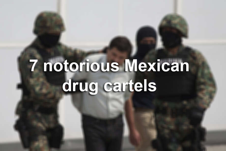 Here are seven of Mexico's most notorious drug cartels. Photo: File
