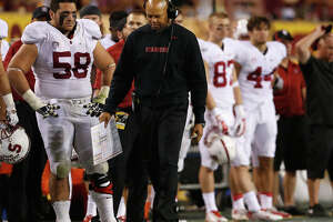 David Shaw takes blame for Stanford's offensive woes - Photo