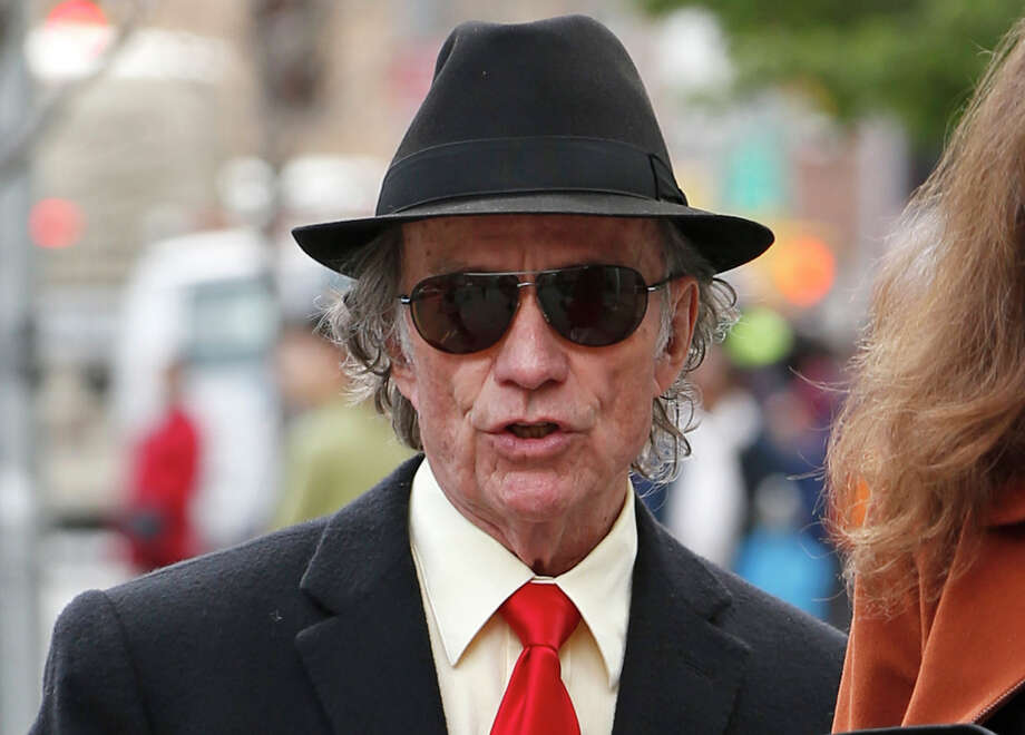 FILE - In this May 6, 2014 file photo, Texas entrepreneur Sam Wyly arrives to U.S. District Court in New York, for closing arguments in the civil trial of Wyly and his late brother Charles. Wyly on Sunday, Oct. 19, 2014 filed for bankruptcy protection as he and the estate of his brother face up to $400 million in penalties after being found liable for hiding stock holdings overseas. (AP Photo/Kathy Willens, File) Photo: Kathy Willens, STF / AP