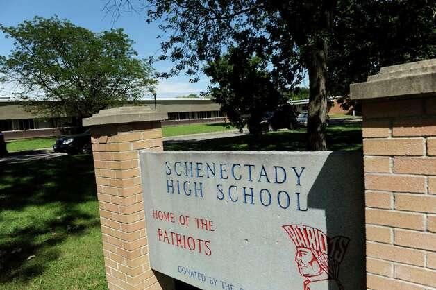 Schenectady High School on Friday, July 26, 2013, in Schenectady, N.Y. (Cindy Schultz / Times Union) Photo: Cindy Schultz / 00023323A