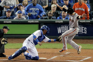 Third base coach might put brakes on Posey - Photo