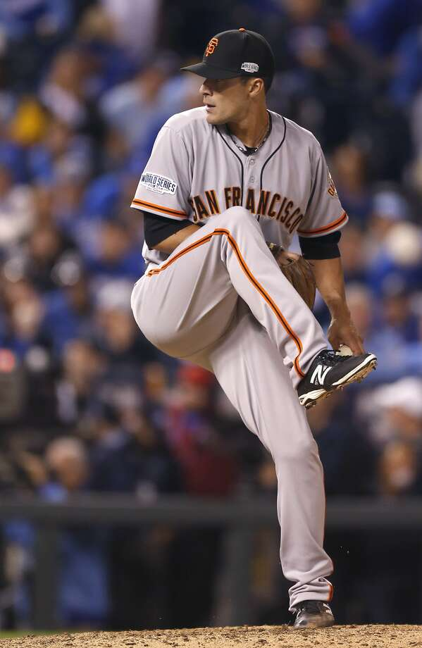 Jeremy Affeldt has retired, and his bullpen mates Sergio Romo, Javier Lopez (pictured) and Santiago Casilla are all in the final year of their contracts with the Giants. Photo: Scott Strazzante, The Chronicle