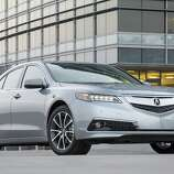 2015 Acura TLX Exterior V6 SH-AWD.