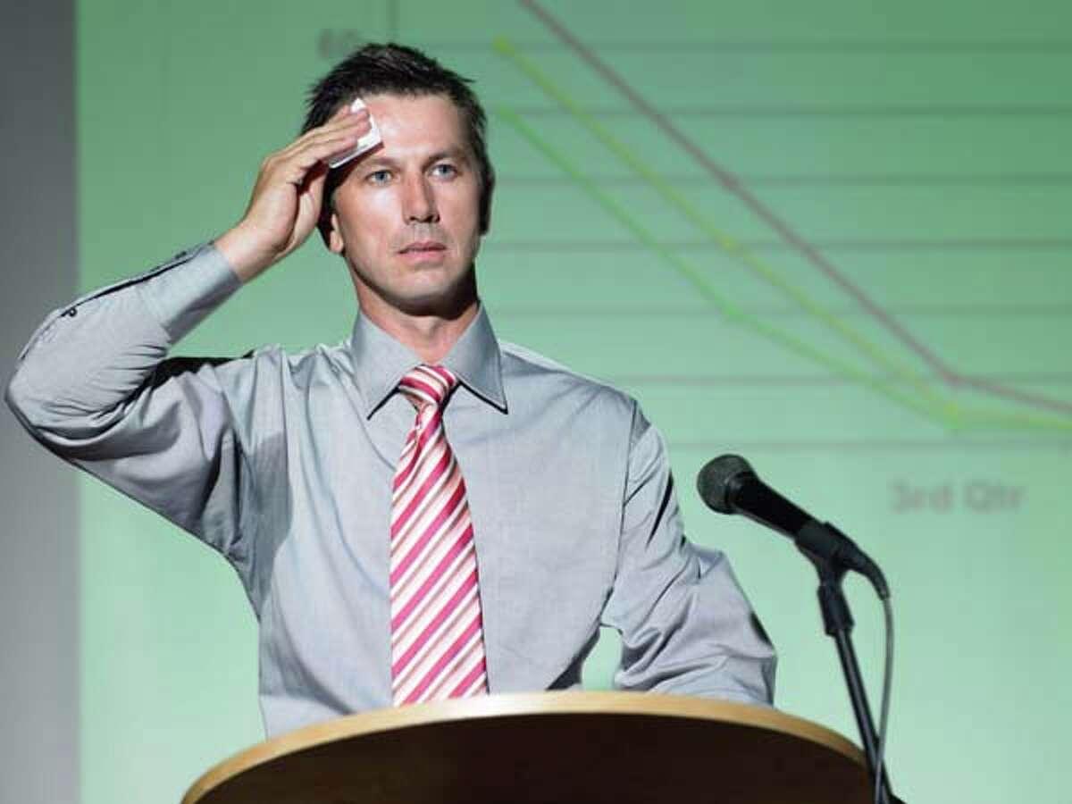 5. Public speaking