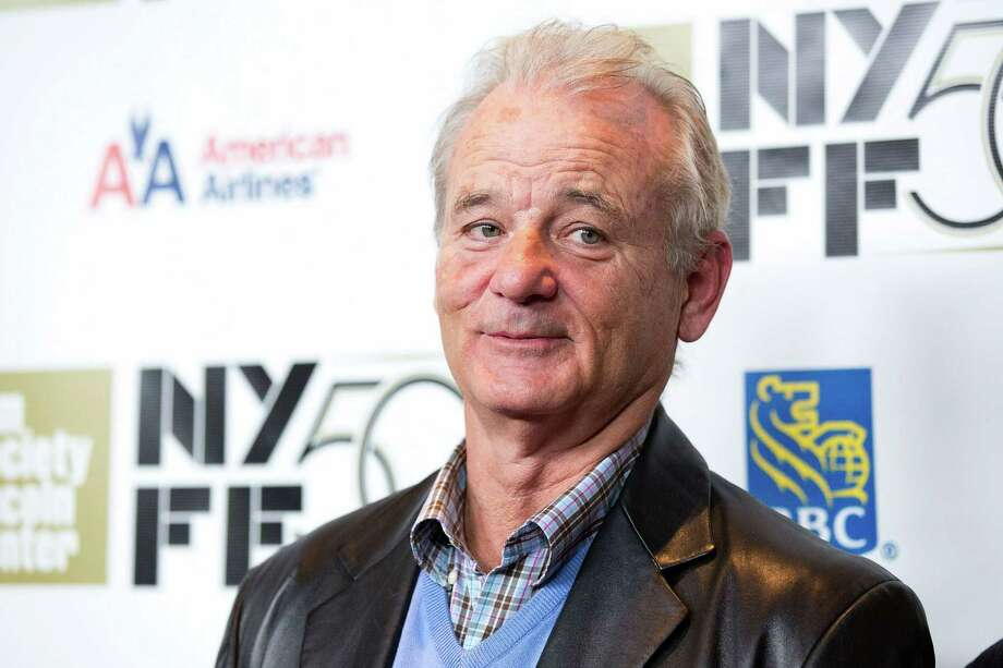 """Bill Murray attends the premiere of """"Hyde Park On Hudson"""" during the 50th annual New York Film Festival at Alice Tully Hall on Saturday, October 13, 2012 in New York. (Photo by Dario Cantatore/Invision/AP) Photo: Dario Cantatore / Invision"""