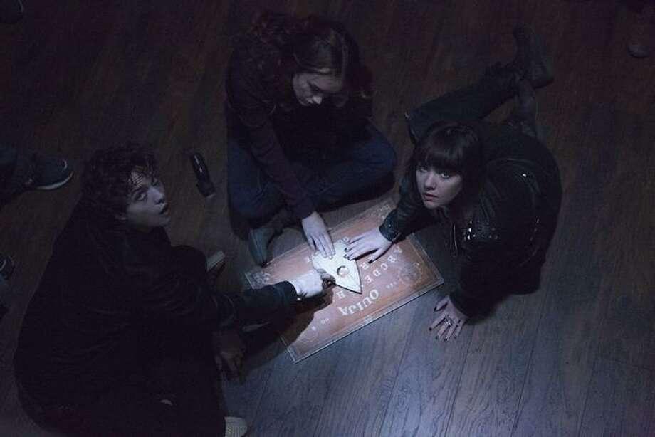 Douglas Smith, Ana Coto and Olivia Cooke in Ouija