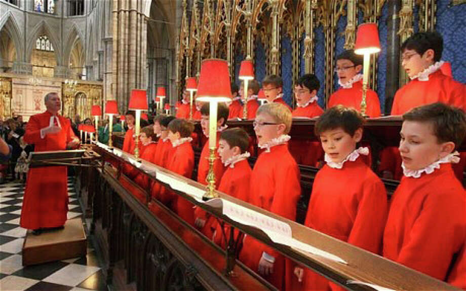 The Choir of Westminster Abbey, seen here performing at the royal wedding of Prince William and Kate Middleton, will appear in concert On Sunday, Nov. 2, at Westport's Christ & Holy Trinity Church. Tickets are available online and by calling the church. Photo: Westport News/Contributed Photo / Westport News