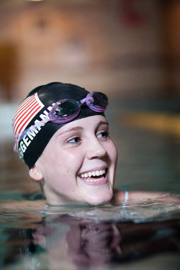 Paralympic swimmer Mallory Weggemann will speak at the Women Against MS Luncheon sponsored by Women@Work magazine and will be held Friday, Nov. 7. Photo: Photos From The Factory Agency. / Bart Nagel ©2011