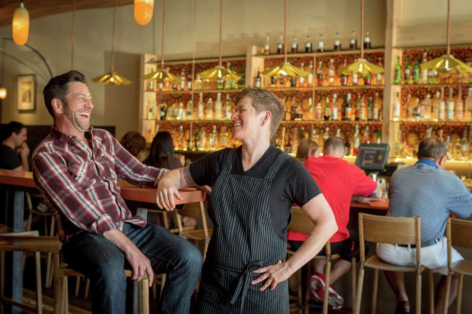 Owners Tim Nugent and Jen Biesty bring their passion for Spanish flavors to Shakewell. Photo: John Storey / Special To The Chronicle / ONLINE_YES
