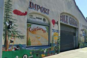 Cole Valley Garage Dog Mural immortalizes pets - Photo