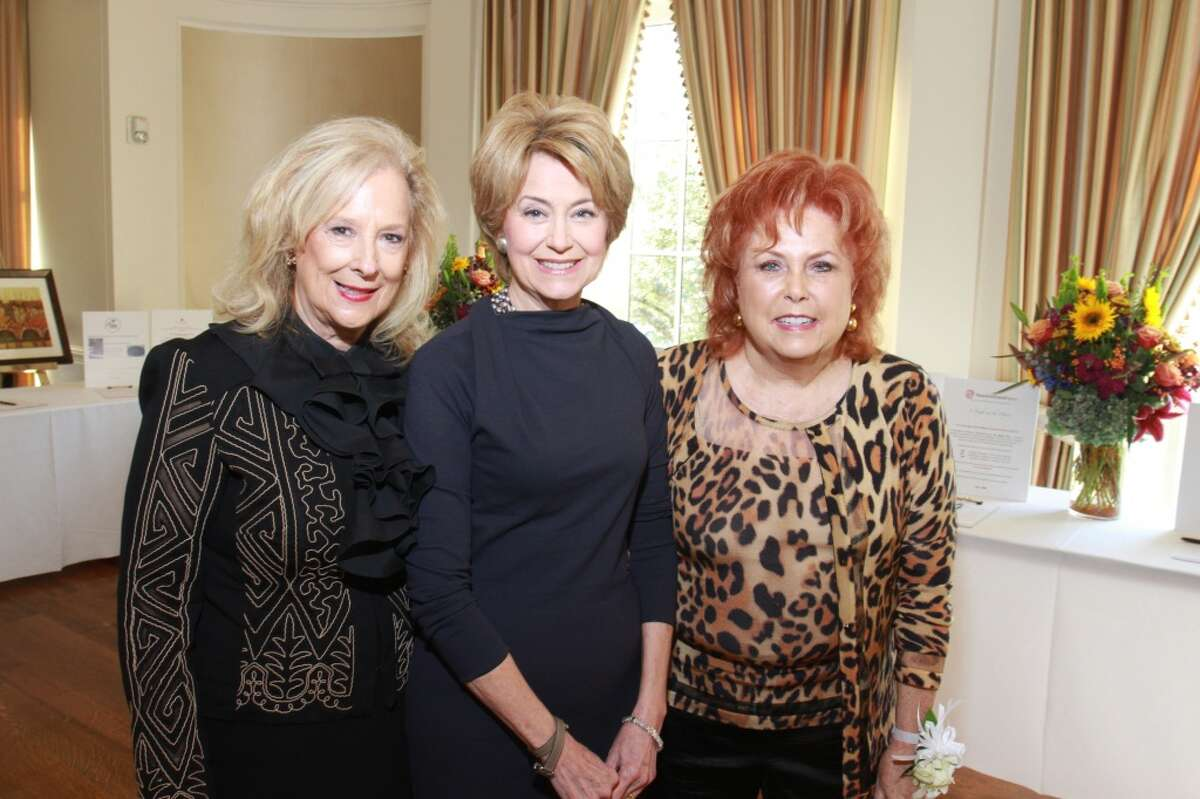 Mary Ann McKeithan, from left, Jane Pauley and Maryann Hoffer