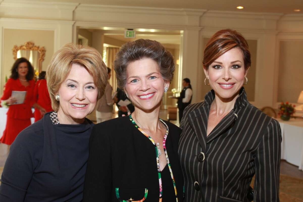 Jane Pauley, from left, Bain Pearson Pitts and Dominique Sachse