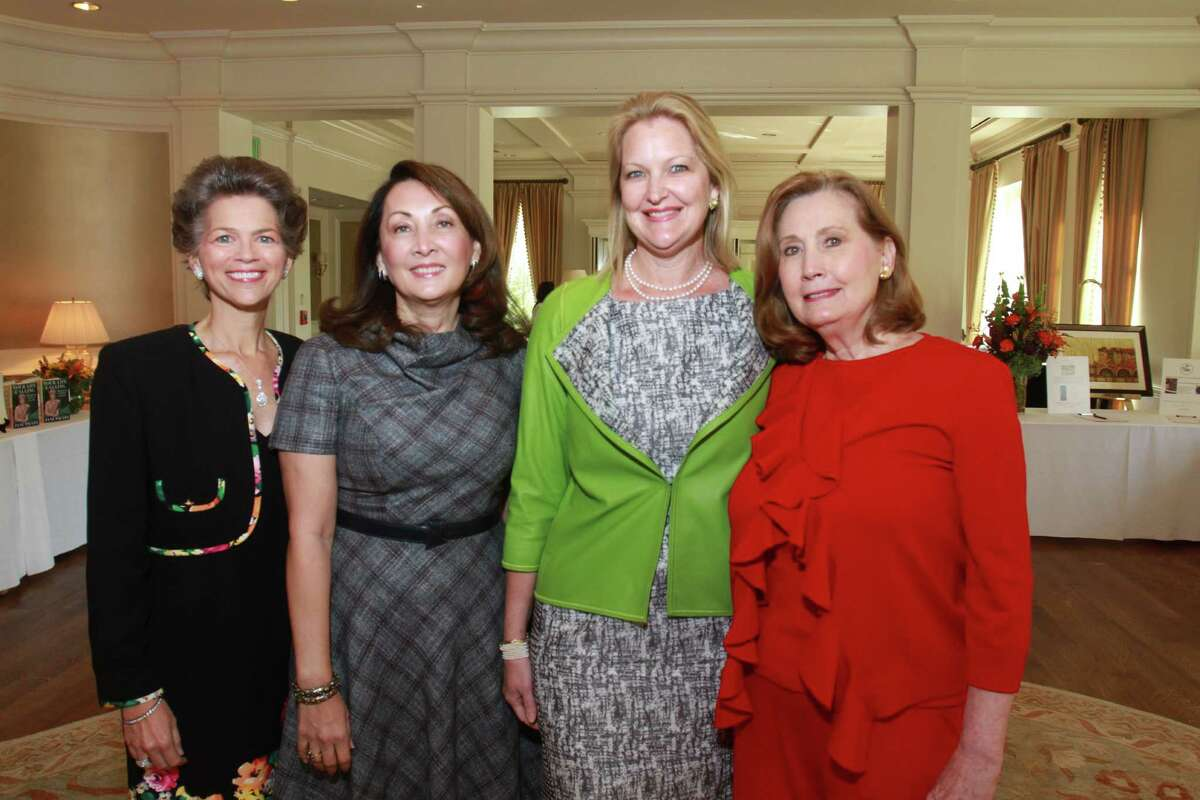 Honorees Bain Pearson Pitts, Penny Loyd, Joella Mach and Reda Martin at the Women's Health Summit benefiting the Huffington Center on Aging at Baylor College of Medicine at the River Oaks Country Club. Honorees Bain Pearson Pitts, from left, Penny Loyd, Joella Mach and Reda Martin. (For the Chronicle/Gary Fountain, October 22, 2014)