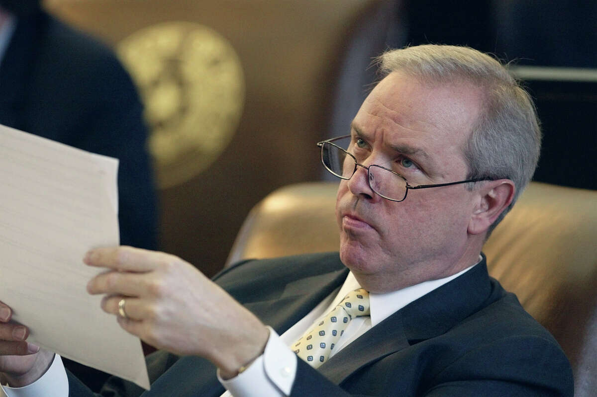 Rep. Gary Elkins, R-Houston, has worked to quash legislation that would regulate payday lending stores. Did we mention that Elkins owns a chain of payday lending stores? (AP Photo/Harry Cabluck)