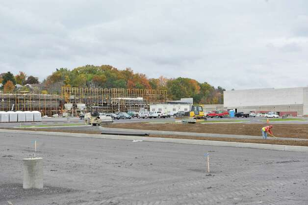 Construction work continues on the new  180,000-square-foot Walmart supercenter  being built at the Shoppes at Latham Circle, seen here on Wednesday, Oct. 22, 2014, in Colonie, N.Y.  (Paul Buckowski / Times Union) Photo: Paul Buckowski / 00029176A