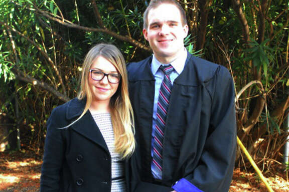 Natalie Plummer and Ryan McConnell say the university failed to give them due process.