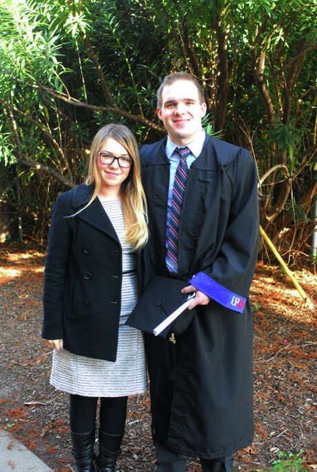 Natalie Plummer and Ryan McConnell say the university failed to give them due process. Photo: Michael K. Allen & Associates /  Michael K. Allen & Associates