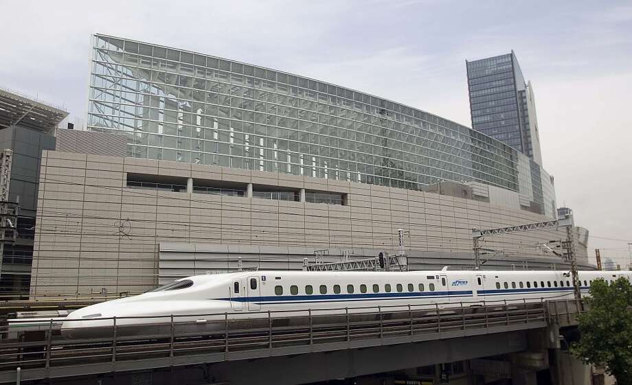 The proposed N700 bullet train that would move people between Dallas-Fort Worth and Houston in 90 minutes. Click the gallery to see the U.S. cities with the best public transportation. Photo: JR Central