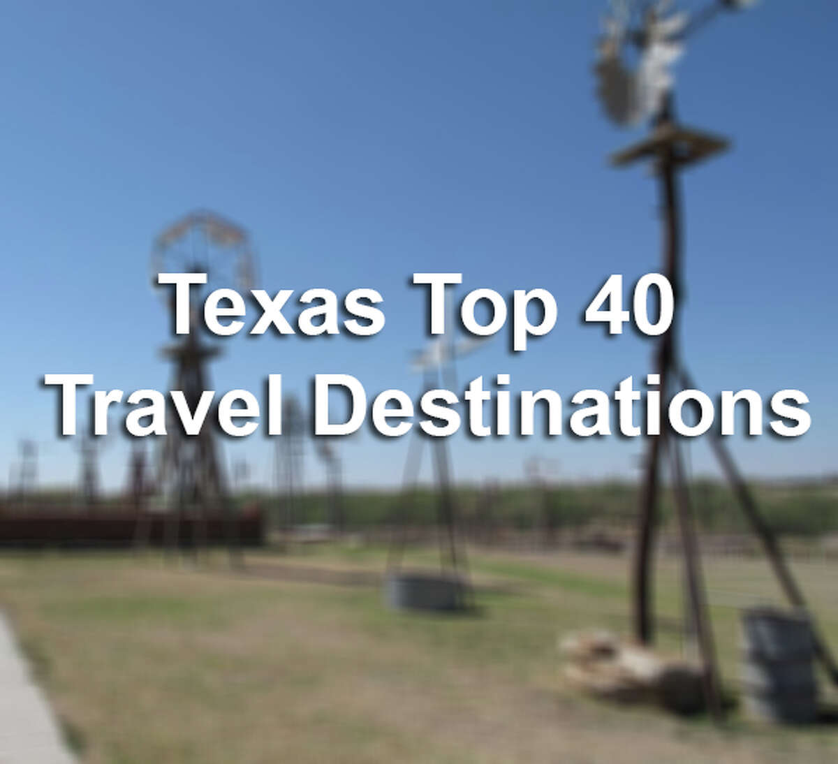 With the combination of culture, theme parks and the famed River Walk, voters named San Antonio the top travel destination in the state, Texas Highways Magazine announced Monday. The magazine hosted the year-long competition that ranked 40 best travel sites, and the Alamo City was able to claim, the top spot over well-known sites such as Big Bend, Padre Island and Garner State Park. Click through the slideshow above to see the top 40 travel destinations, named by Texas Highway Magazine.