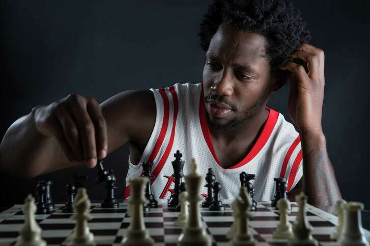Houston Rockets guard Patrick Beverley. Monday, Sept. 29, 2014, in Houston.