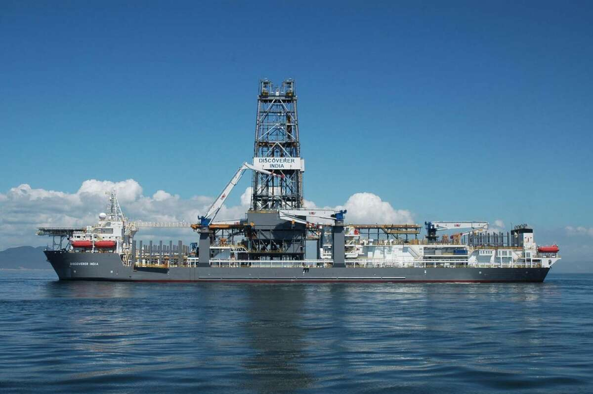 The Transocean-owned Discoverer India (Chevron)