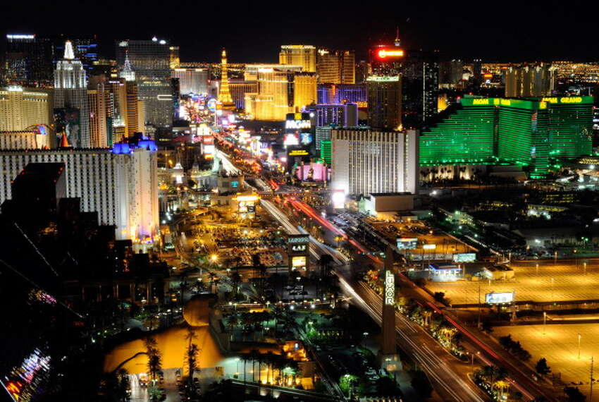 8. Neon lights, Las Vegas, USA