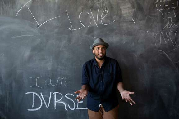 """Justin Simien, the director of """"Dear White People,"""" is a graduate of Houston's High School for the Performing and Visual Arts."""